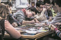 Jóvenes del Santa Isabel durante una actividad. SN