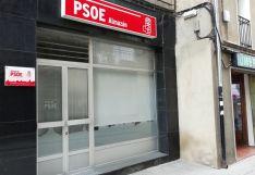 Imagen de la entrada a la nueva sede.