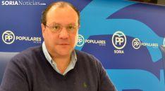 Pedro Antonio Heras, procurador soriano del PP. /SN