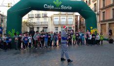 Más de 130 corredores en la sansilvestre agredeña