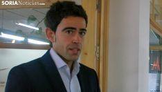 Sergio Cabrerizo, director de Soria Futuro. /SN