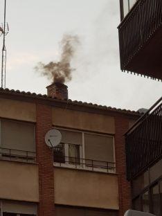 Susto en la calle Cortes de Soria.