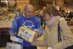 Recogida de alimentos en Supermercado E.Lecrerc