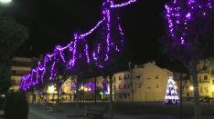 Ólvega estrena iluminación esta Navidad