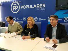 Yolanda de Gregorio, candidata del PP al Ayuntamiento de Soria. SN