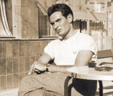 Un atractivo Vicente Marín, de joven.