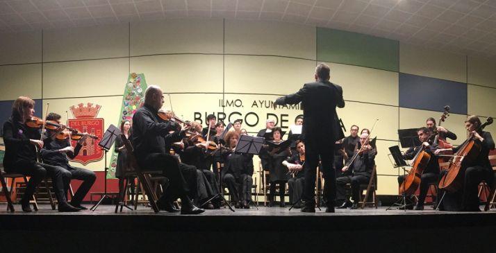 Una imagen del concierto. /ABO