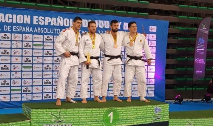 Foto 1 - Alexis Rosa, primer soriano campeón de España de judo