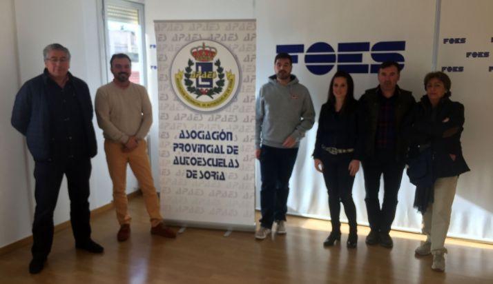 Miembros de la nueva junta directiva de APASO.