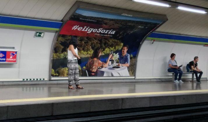 Foto 1 - Las campañas en el Metro hacen que los turistas madrileños aumenten un 80% en noviembre