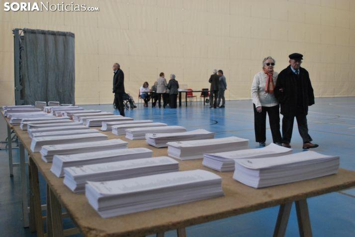 Mesa electoral de Soria. SN