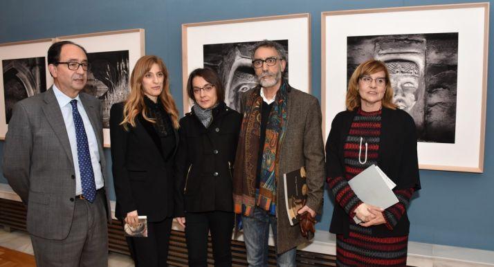 Manuel López, Mar Sancho, Marisol Encinas, Alejandro Plaza y Marian Arlegui. /Jta.