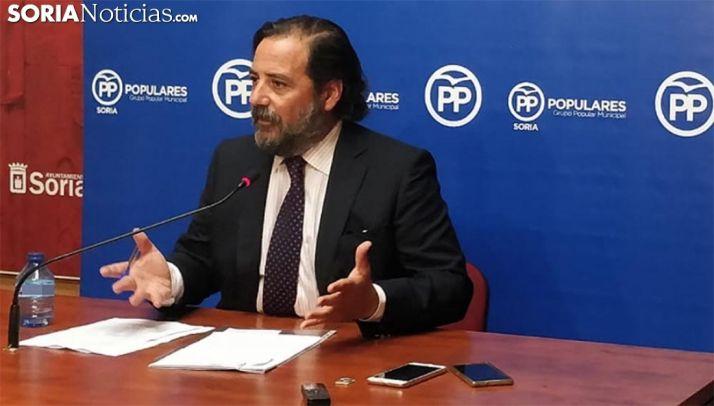 José Manuel Hernando, concejal del PP en el Ayuntamiento capitalino. /SN