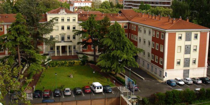 Centro hospitalario de San Juan de Dios en Burgos.