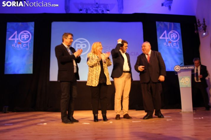 El PP de Soria rinde tributo a los alcaldes populares que ha tenido la provincia. SN