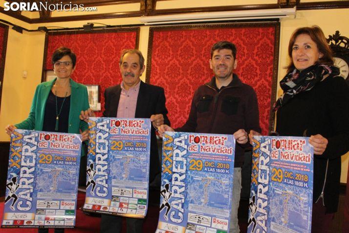 Presentación de la XXIV Carrera Popular de Navidad en el Casino.