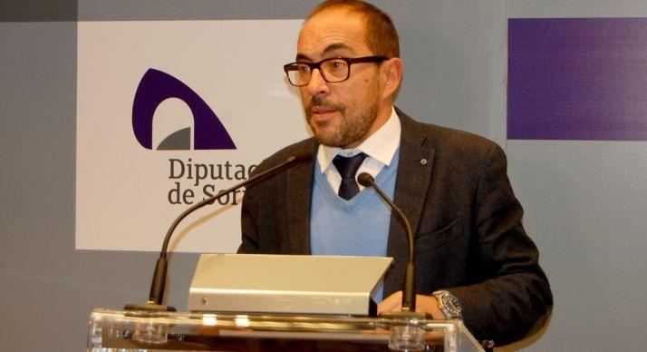 Luis Rey, presidente de la Diputación esta tarde de jueves.