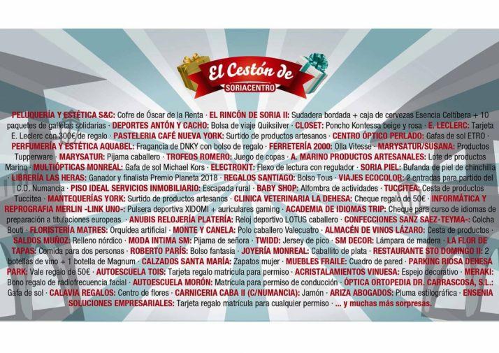 Foto 2 - 55 establecimientos para el Cestón de Soria Centro