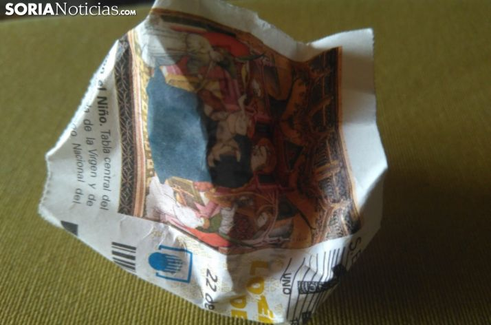 Foto 1 - Lotería de Navidad: Dos décimos del Gordo, uno del tercero y gracias
