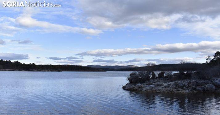 Foto 1 - Impulso de agua para el pantano que supera el 66% de su capacidad