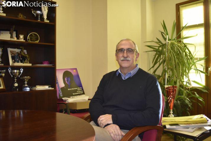 Miguel Ángel Delgado, director del IES Antonio Machado, SN