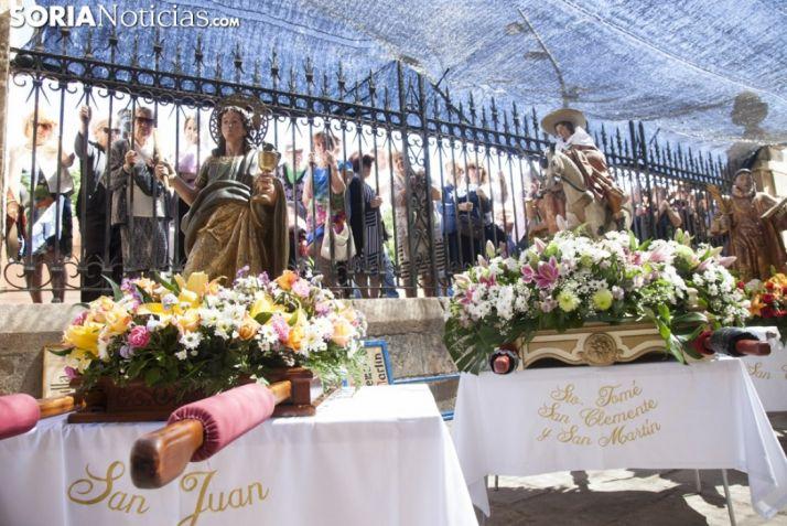 Foto 1 - 90.000 € para realizar las réplicas de los Santos de Cuadrilla