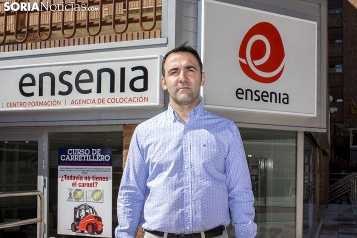 Nacho Benito, gerente de Ensenia.