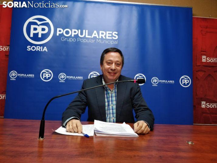 Adolfo Sainz, PP Soria. SN