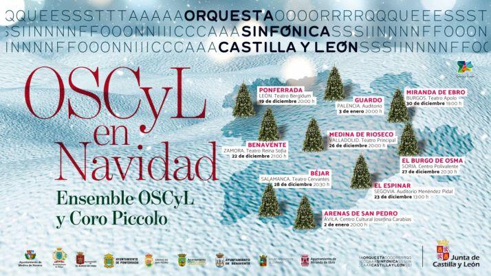 Foto 1 - La gira 'OSCyL en Navidad' llega este jueves al ecuador con el concierto en el Centro Polivalente de El Burgo de Osma