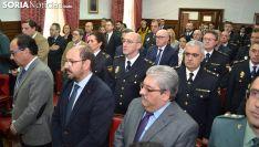 Una imagen del acto de este viernes en la sede de la Subdelegación del Gobierno. /SN