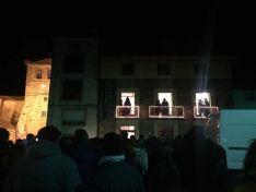 Cabalgata de Reyes en Almarza.