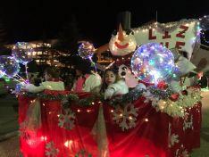 Cabalgata de Reyes en Ólvega.