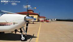 Una imagen del aeródromo de Garray. /SN