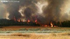 Imagen del incendio que arrasó la zona en 2015. /SN