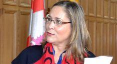 Soledad Borque, actual decana de los abogados sorianos. /SN