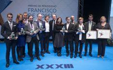 Foto de familia de los premiados para esta edición. /Jta.