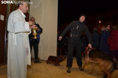 Una imagen de la bendición de animales. /SN