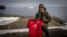 El CD Numancia se encuentra en la #CampañaAntártica. Campaña Antártica del Ejército de Tierra
