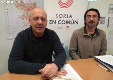 Enrique García y Luis Alberto Romero.