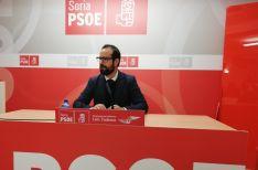 Ángel Hernández durante la rueda de prensa.