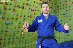 Alexis Rosa, la referencia judoca de Soria.