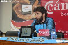 Manolo Sevillano, en rueda de prensa. SN