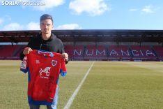 Cristian Ganea, nuevo jugador del CD Numancia. SN