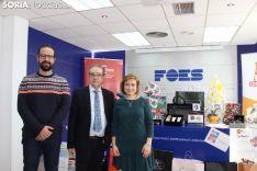 María Velasco Izquierdo recoge sus premios en FOES. SN