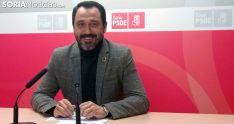 Javier Muñoz, coordinador de la campaña del 26-M esta tarde de jueves. /SN