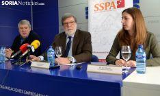 Sara Bianchi, Santiago Aparicio y Paulino Herrero. /SN