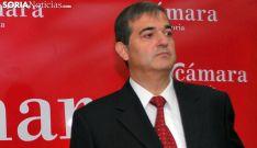 Alberto Santamaría, presidente de la Cámara de Soria. /SN