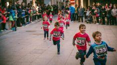 Una edición de la carrera de Reyes en la localidad ribereña.