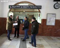 Una imagen de la adquisición del billete para Ávalos. /SN
