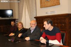 Presentación en la Diputación del Campeonato de Invierno en Vinuesa.